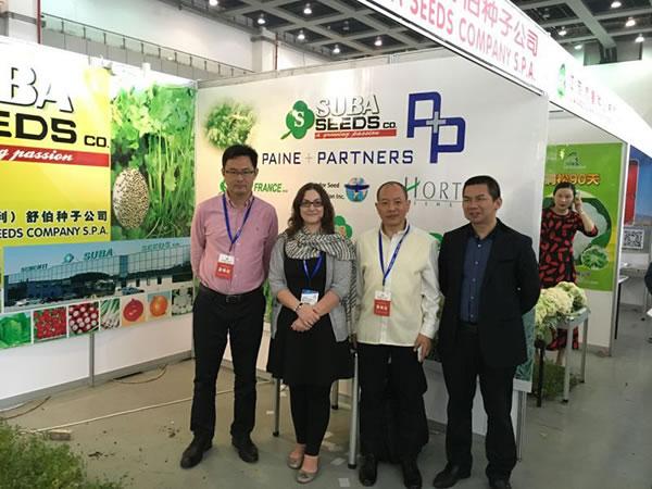 意大利舒伯公司参加2016武汉种子交易会