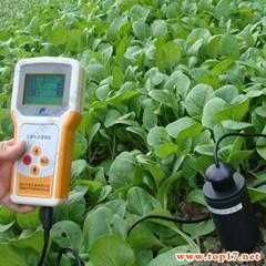 土壤水份、温度速测仪