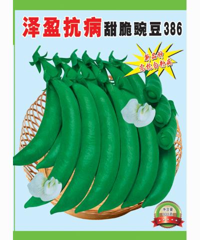 泽盈抗病甜脆豌豆386 900g