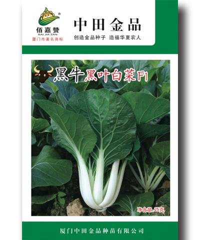 黑牛黒叶白菜 25g/包