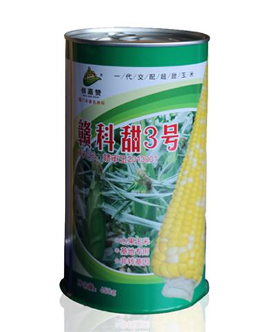 新一代赣科甜3号 双色玉米/水果玉米 450克/罐