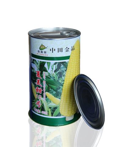 夏美甜12号 鲜食玉米 400克/罐
