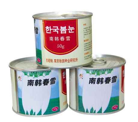 南韩春雪(罐)