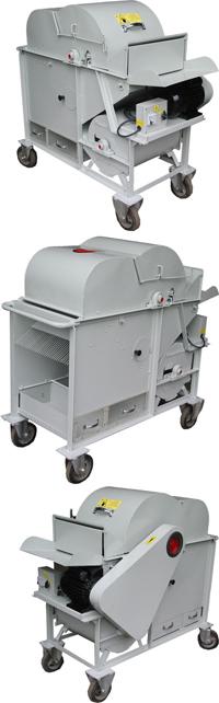 5TZQ-400B型小区稻麦脱粒机