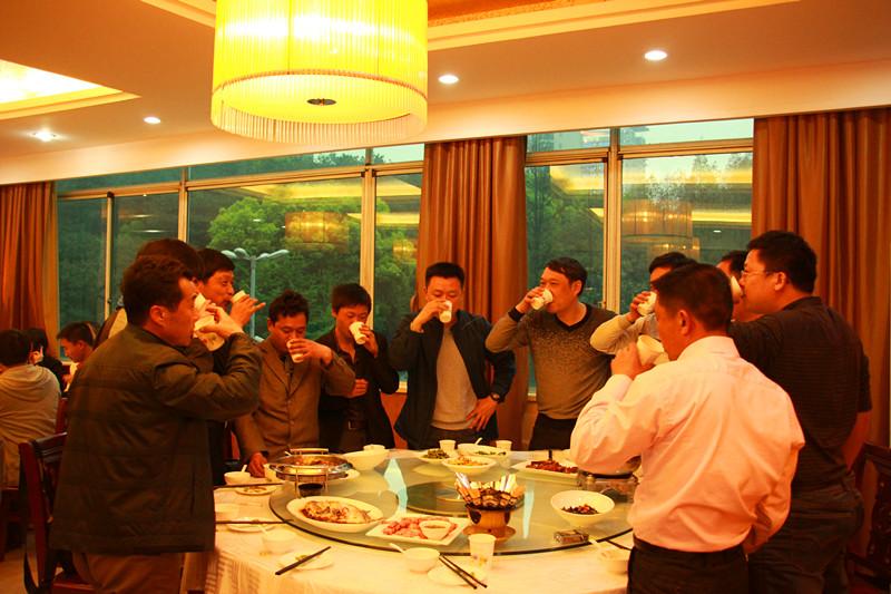 2012武汉会期间三绿晚宴